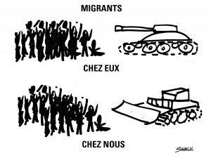 dessin de Jean Pierre Savelli