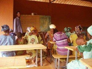 alphabétisation en langue peuhl Ouahigouya