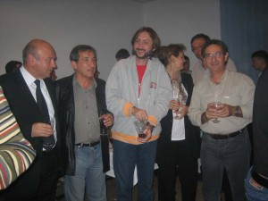 20_Réception avec les Directeurs du lycée et du musée - Sabac